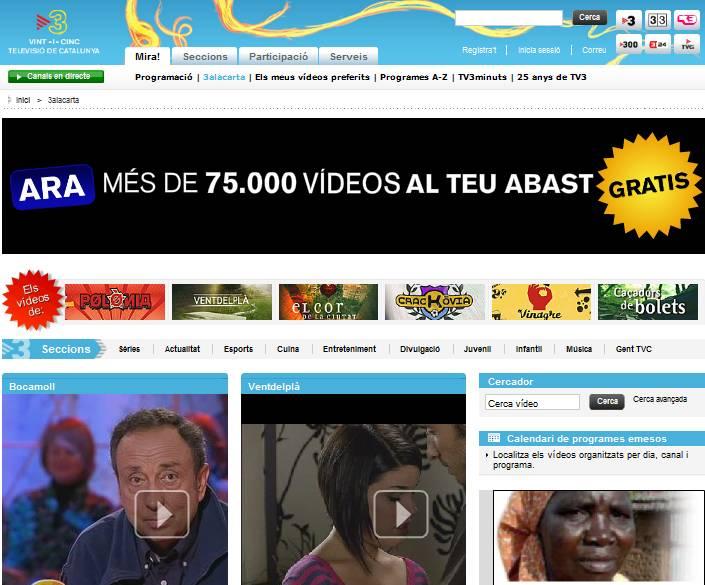 TV3 en 3alacarta