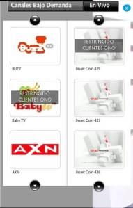 Selector de canales