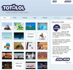 Página principal de Totlol