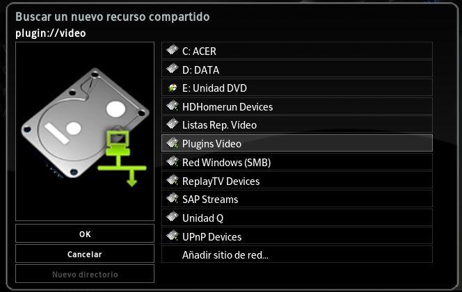xbmc-fuentes